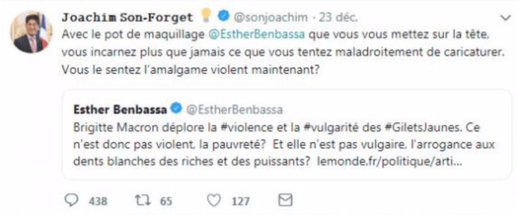 Twitter, la libre expression et ses limites : deux cas Son-Forget et Hassani 1
