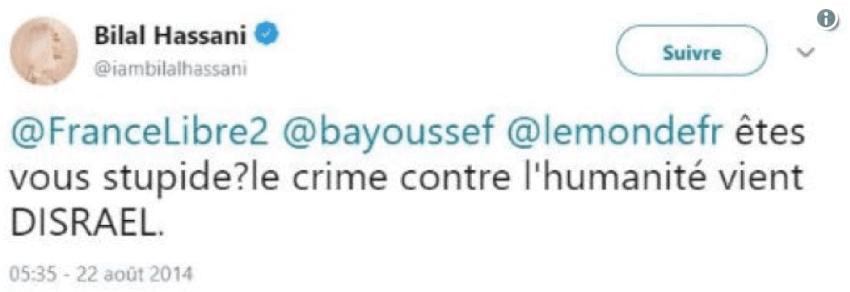 Twitter, la libre expression et ses limites : deux cas Son-Forget et Hassani 3