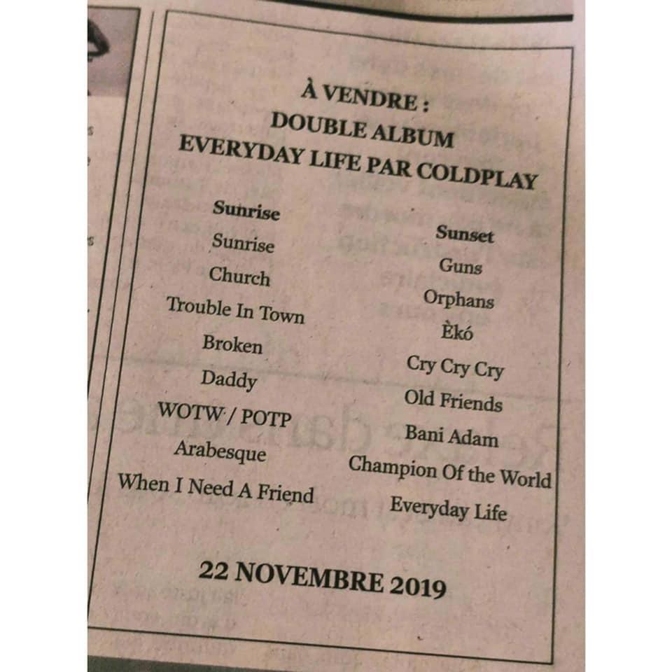 Coldplay, un 8ème album plus proche de son public 2