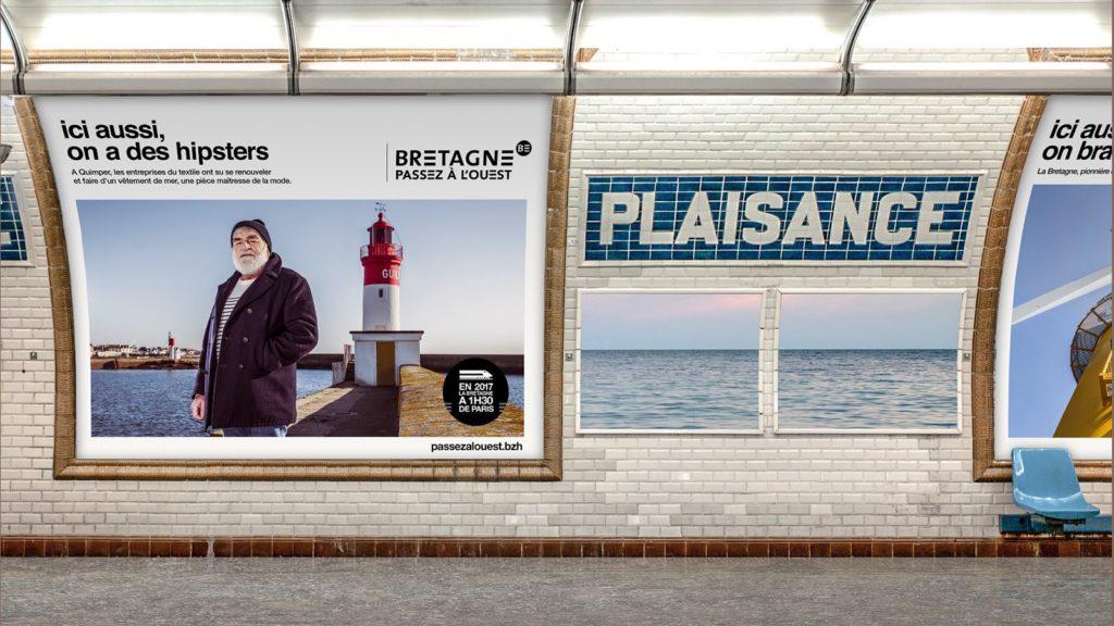 « Passez à l'Ouest » : la campagne de communication originale et décalée de la Région Bretagne 2