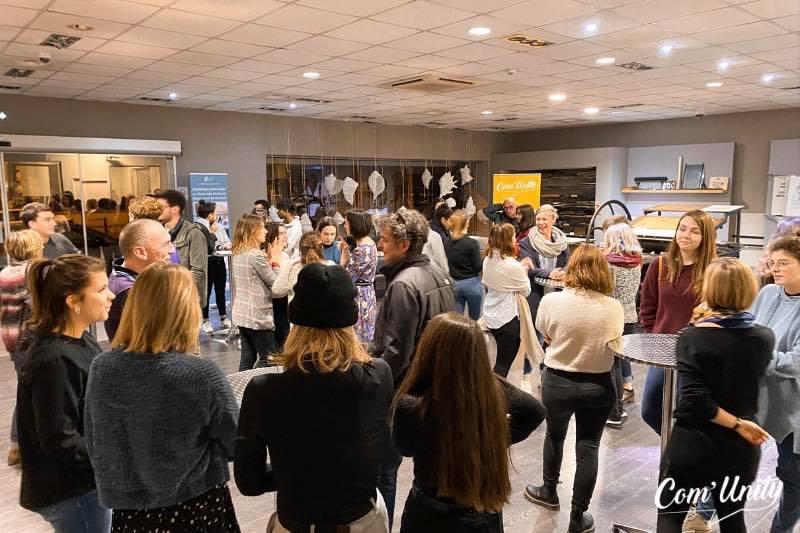 Afterwork à l'Ecole de Design de Nouvelle Aquitaine & Visite de MBA 1