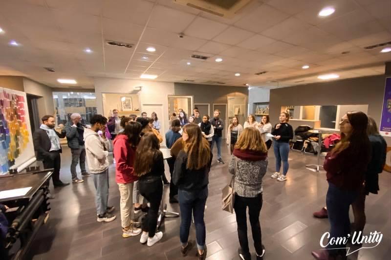 Afterwork à l'Ecole de Design de Nouvelle Aquitaine & Visite de MBA 2
