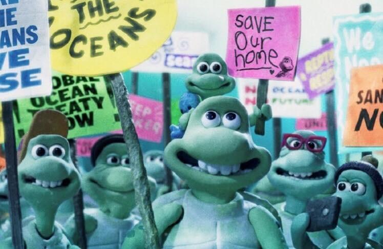 « Le voyage des tortues », l'appel à l'aide des océans porté par Greenpeace 1